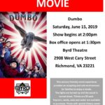 ASCV's Sensory Friendly Movie for June is Dumbo!