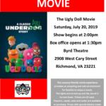 ASCV's Sensory Friendly Movie at The Byrd: The Ugly Doll Movie