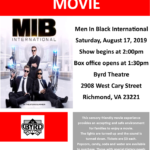 ASCV Sensory Friendly Movie: Men In Black International