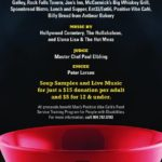 Max's Positive Vibe Cafe's Souper Bowl VI on November 2nd