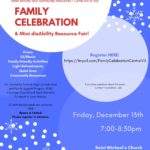 Family Celebration disAbility Resource Fair – Register here