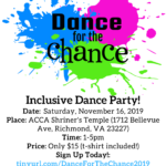 Jacob's Chance Inclusive  Teen Dance For A Chance