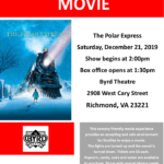 ASCV's Sensory Friendly Screening of The Polar Express at The Byrd Theatre