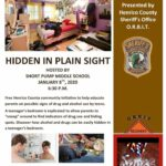 Free Community Event- Hidden In Plain Sight