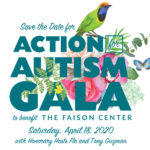 Save The Date – Faison's Auction For Autism Gala