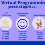 Down Syndrome Association of Greater Richmond Virtual Programming Week of 4/27/2020