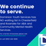 Dominion Youth Services NO Wait For ABA Services in Chesterfield