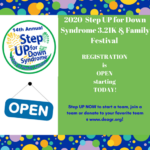 Registration for Step Up 2020 is now open! Register TODAY!