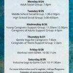 ASCV's Virtual Programs for 8/24-29