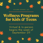 Healing Sounds Begins Virtual Programs 9/21