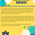 Exciting news at Parent Educational Advocacy Training Center (PEATC)!!