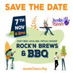 Jacob's Chance Save The Date – Rock & Brews