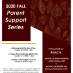 PEATC 2020 Fall Parent Support Series presented by REACH (Regional Education Assessment Crisis Services Habilitation)