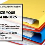 Organize Your IEP and 504 Binder0 Wednesday 9/2/20