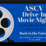 ASCV Drive In Movie Night 10/16/20