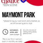 Jacob's Chance Last Chance Register In Person Maymont Park Scavenger Hunt and Brown Bag Picnic